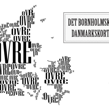 Det Bornholmske Danmarkskort