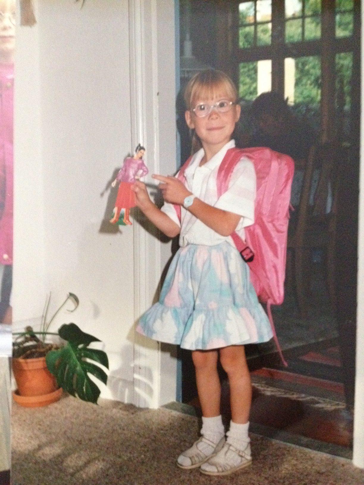 første skoledag