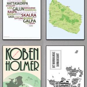 Bornholmske postkort