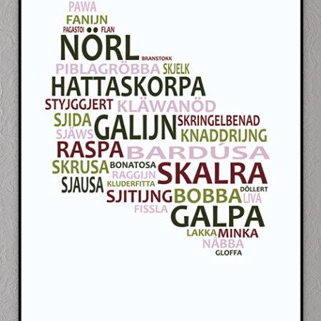 Bornholmsk plakat
