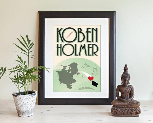 KøbenHolmer postkort