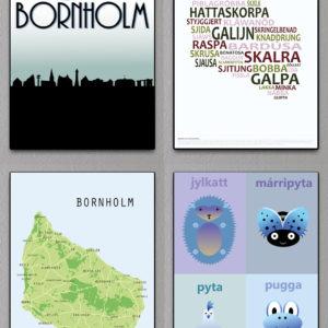 Bornholmske plakater