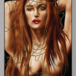 Nøgen kvinde plakat