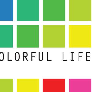 colorful life detalje