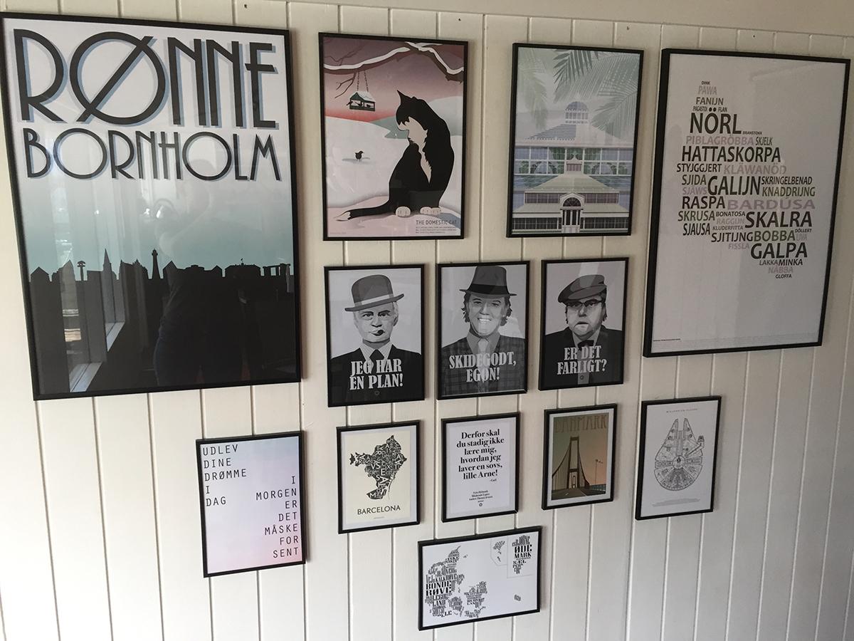 plakat væg posterwall
