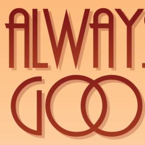 Always kiss Goodbye plakat detalje