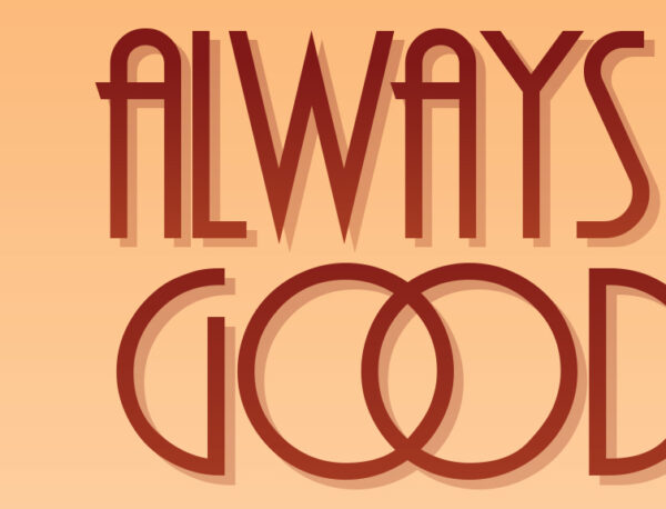 Always kiss Goodbye plakat detalje