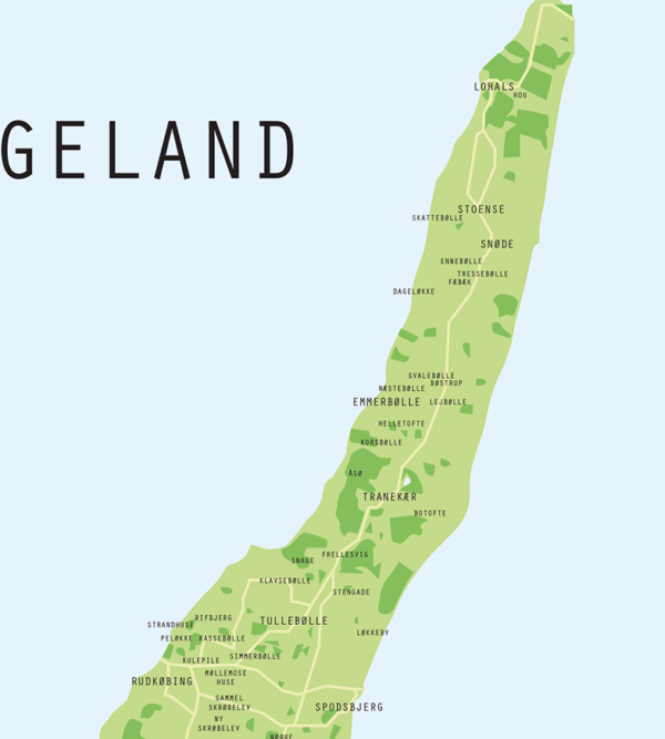 Langeland Plakat detalje