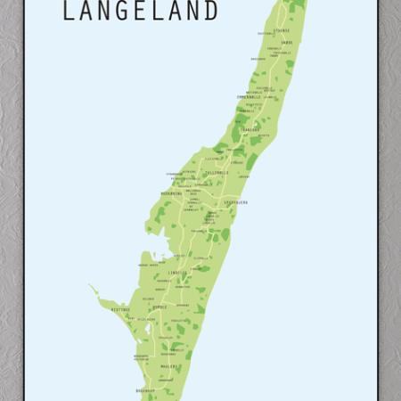Langeland Plakat