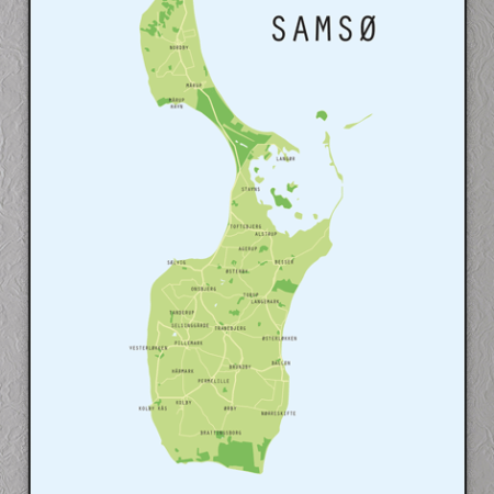 Samsø Plakat
