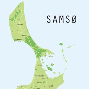 Samsø Plakat detalje