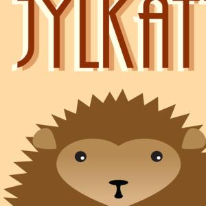 Jylkatt bornholmsk plakat