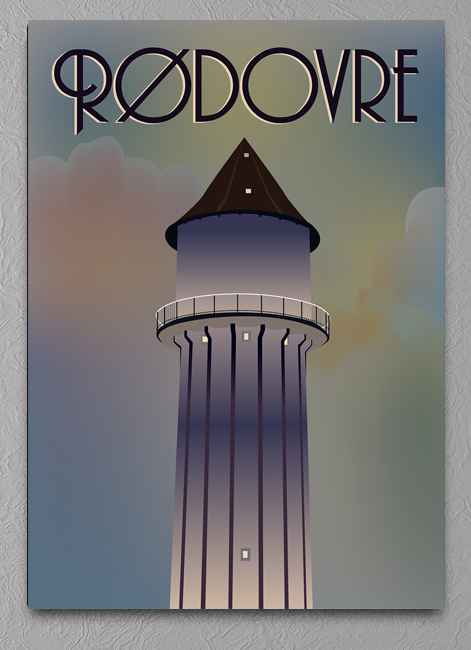 rødovre vandtårn plakat