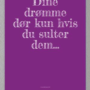 drømme plakat