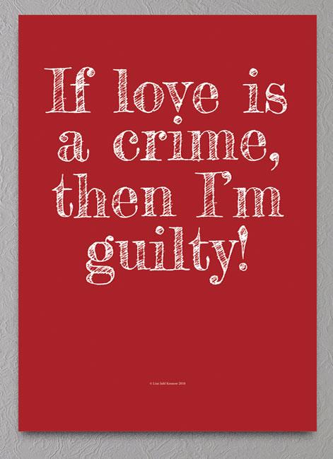 Kærligheds plakat