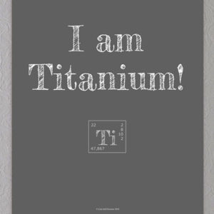 titanium plakat