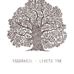 træ plakat